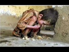 We have money for WAR but can't FEED our POOR? End WORLD HUNGER!If we took all of the money spent on war in just one year there would be no poverty. Think about it.