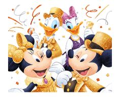 LINE Official Stickers - Mickey and Friends Winter Party Example with GIF Animation Mickey Mouse Pictures, Mickey Mouse Cartoon, Disney Mouse, Disney Art, Minnie Mouse, Disney Images, Disney Pictures, Disney Pics, Mickey Love