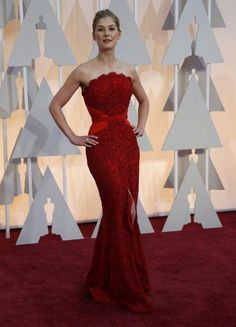 Rosamund Pike at the Oscars 2015