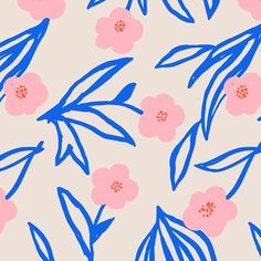 🌼 A super bright spring-inspired floral pattern for Friday 🌼 I think I& going to print this on some nice thick canvas and make a bag! Flower Illustration Pattern, Abstract Illustration, Illustration Blume, Floral Illustrations, Surface Pattern Design, Pattern Art, Eye Pattern, Textures Patterns, Print Patterns