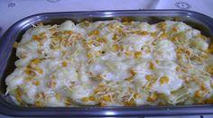 Receita de Batatas Cremosas com Queijo