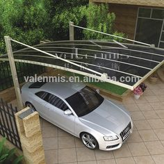 Source Hot Sale Outdoor Car Garage / Aluminum Polycarbonate Carport Canopy With UV Protection on m.alibaba.com