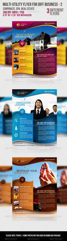 Multi-utility Flyer For Different Business - 2 - GraphicRiver Item for Sale