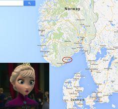 Frozen. It's real....mooooommm I'm taking a trip !!!!!!!!