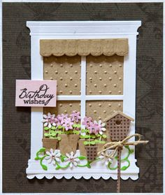 Creative Mayhem: Assorted cards using the Grand Madison Window Die by Poppy Stamps