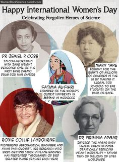 Some of the awesome women of science