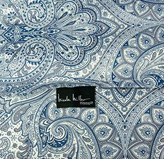 Nicole Miller Boho Paisley Medallion Print Luxury Duvet Quilt Cover Bohemian Damask Pattern in Navy Blue Mauve Dusty Violet 300TC Cotton 3pc Bedding Set (Queen) Searching bedroom decorating ideas  http://aluxurybed.com/product/nicole-miller-boho-paisley-medallion-print-luxury-duvet-quilt-cover-bohemian-damask-pattern-in-navy-blue-mauve-dusty-violet-300tc-cotton-3pc-bedding-set-queen/