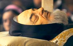St. Padre Pio's Incorrupt Body Padre Pio, a humble Capuchin priest from San Giovanni Rotondo, Italy , was blessed by God in many wonderful and mysterious ways. The most dramatic was the stigm…