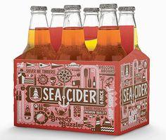 Sea Cider #packaging