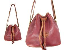 Vintage Dooney & Bourke Distressed Leather by IntertwinedVintage, $62.00