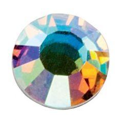 Strass Swarovski 001 - Crystal AB (Ιριδίζον) 100τεμ Αυθεντικά Strass Swarovski για τα νύχια από το Αυστριακό με απαράμιλλη λάμψη και διάρκεια. Κατάλληλα για απλό naildesign & τεχνητά νύχια. Η διάμετρος των strass είναι 1,75χιλ. (SS5), Σε συσκευασία 100 τεμαχίων. Τιμή €6.00