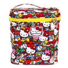 borsa-termica-hello-kitty-tick-tock-jujube Reusable Lunch Bags e0ab7838bc1f2