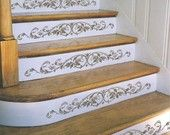 pochoir escalier bois - Recherche Google