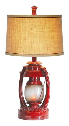 Vintage Lantern Table Lamp | Bass Pro Shops: The Best Hunting, Fishing, Camping & Outdoor Gear