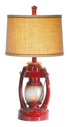 rustic boy nursery. Vintage Lantern Table Lamp | Bass Pro Shops