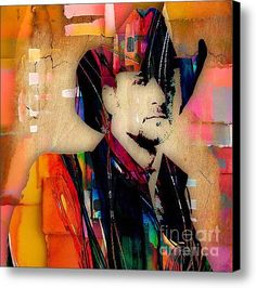 b7ede2e27b7 Tim Mcgraw Collection Canvas Print   Canvas Art By Marvin Blaine. Samantha  Perry · Country Music Art
