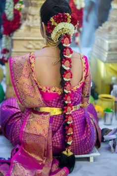 30+ Poo Jadai Alangaram Designs for Wedding and Seemantham – South Indian Bride | Wedlockindia.com