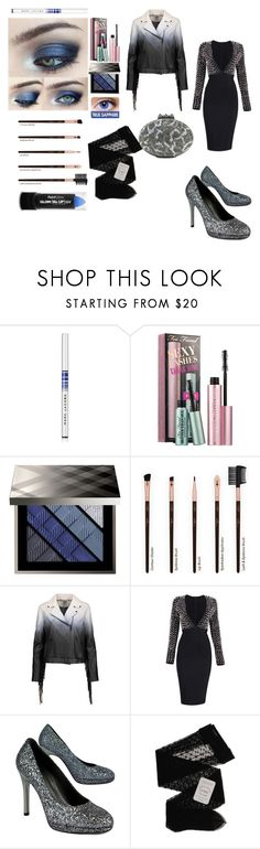 """""""Smoky look"""" by freefreak ❤ liked on Polyvore featuring Marc Jacobs, Sephora Collection, Burberry, Haute Hippie, Stuart Weitzman, Gerbe, PaintGlow and Christian Louboutin"""
