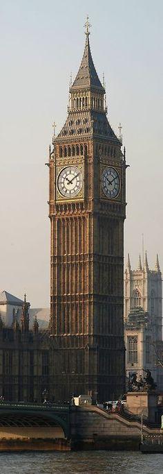 England, UK — Elizabeth Tower, London, England ...