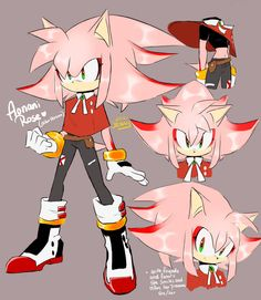 Shadamy Child by on DeviantArt Sonic The Hedgehog, Silver The Hedgehog, Shadow The Hedgehog, Hedgehog Art, Shadow And Amy, Shadow Art, Amy Rose, Character Concept, Character Art