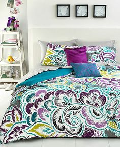 Nadia 2 Piece Twin Comforter Set - Bed in a Bag - Bed & Bath - Macy's