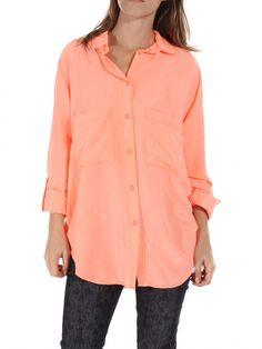 Coral Trixie Button Down by Sam & Lavi - ShopKitson.com