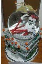 Disney Snowglobes Collectors Guide: Nightmare Haunted Mansion Snowglobe