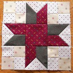 a star quilt block