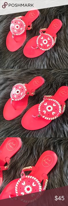 Jack Rogers jelly sandals Good condition • Open to offers via button Jack Rogers Shoes Sandals