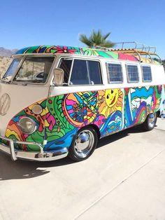 hippie life 257971884890150831 - Hippie Combi VW Flower Power Source by yescapa Bus Vw, Vw T1, Volkswagen Golf, Volkswagen Beetles, Vintage Volkswagen Bus, Happy Hippie, Hippie Love, Hippie Style, Hippie Car