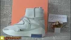 dbe01180b18 Nike Air FOG white grey Unboxing HD review from aj23shoes net. YeezyYoutubeFashion  ShoesAir JordansNike ...