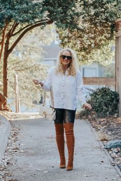 Next Wednesday is the first official day of Fall so I figured I would   share a roundup of some of my favorite fall outfits to give you all the   outfit inspiration you need this fall. Favorite fall outfits and outfit   inspiration. Sharing some of my favorite fall styles on the blog!   #fallfashion #falloutfits #fallstyle Simple Outfits, Fall Outfits, Fall Staples, Fall Booties, Long Cardigan, Dress First, Sweater Weather, My Wardrobe, Wednesday