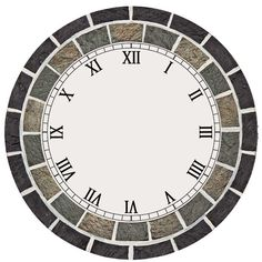 Clock Faces, Watch Faces, Wall Clocks, Decoupage, Miniatures, Watches, Craft, Wood, Creative Walls