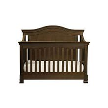 """Million Dollar Baby Louis 4-in-1 Convertible Crib with Toddler Rail - Espresso - Million Dollar Baby - Babies """"R"""" Us $500"""