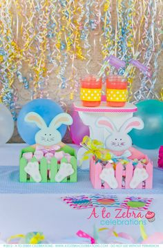 A To Zebra Celebrations: Easter Party