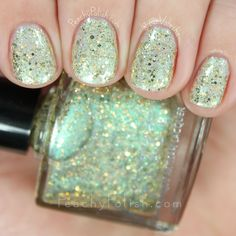 Femme Fatale Cosmetics Glass Carousel | The Afterlight Gala Collection | Peachy Polish