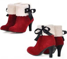 these are the cutest Santa boots