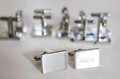 Heartbeat, Personalized Jewelry, App Design, Itunes, Perfect Wedding, Wedding Gifts, Initials, Cufflinks, Jewelry Design
