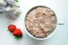 Gesundes Clean eating Rezept: Sommerlicher Milchreis