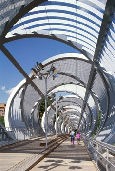 Gallery - Arganzuela Footbridge / Dominique Perrault Architecture - 18