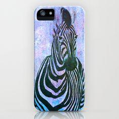 Zebra iPhone Case by Veronica Ventress - $35.00