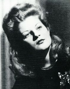 Priscilla Presley's mom Ann Beaulieu in the late 1940s