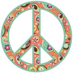 Paisley Peace Sign