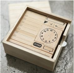 Daily Schedule Stamp Set For some reason I really really want this.....