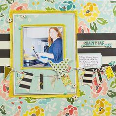 Scrapbooking Ideas for Patterned Paper Backgrounds   Gretchen Henninger   Get It Scrapped
