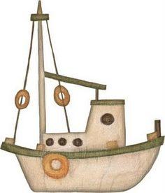 dibujos de barcos para imprimir