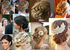 Classic Updo for Weddings. Different ideas on ways to wear your hair up. Classic Updo Hairstyles, Up Hairstyles, Wedding Hairstyles, Putting On Makeup, Playing With Hair, Love Hair, Bridesmaid Hair, Updos, Perfect Wedding