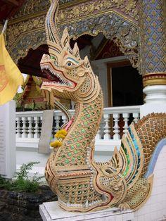 Wat Phra Kaeo, Chiang Rai, Thailand