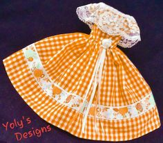 Vintage Reproduction Barbie Doll Dress Clothes  Fashions Silkstone Handmade OOAK