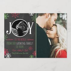 Shop Christmas pregnancy ultrasound announcement Joy created by Anietillustration. Personalize it with photos & text or purchase as is! Pregnancy Christmas Card, Christmas Card Pregnancy Announcement, Pregnancy Announcement Cards, Happy Pregnancy, Fall Pregnancy, Pregnancy Pictures, Pregnancy Belly, Funny Pregnancy, Pregnancy Cravings